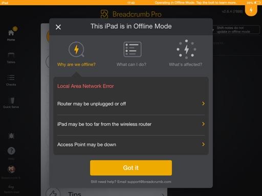 Offline Mode Overview